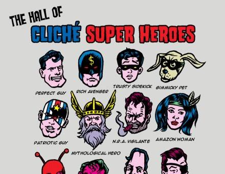 Superhero-shirt